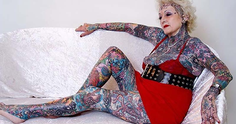 Ces seniors tatoués nous montrent comment vieillissent les