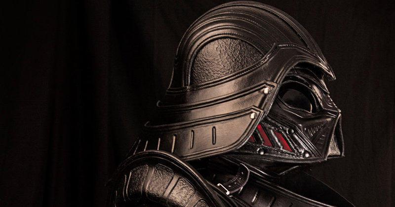 dark vador s 39 offre une armure en cuir totalement badass. Black Bedroom Furniture Sets. Home Design Ideas