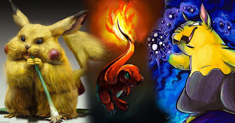 Les 151 Premiers Pokémon Illustrés Par Des Fans