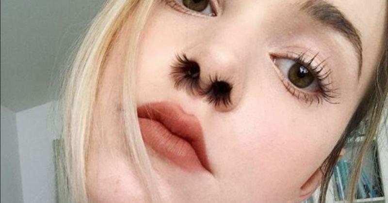 Les extensions de poils de nez ont la c te sur instagram - Appareil pour couper les poils du nez ...