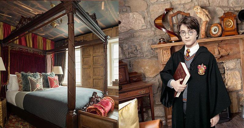 Un appartement Harry Potter vient d'ouvrir, et vous pouvez aller y dormir !