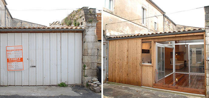 il transforme un garage en un somptueux appartement - Transformer Un Garage En Logement