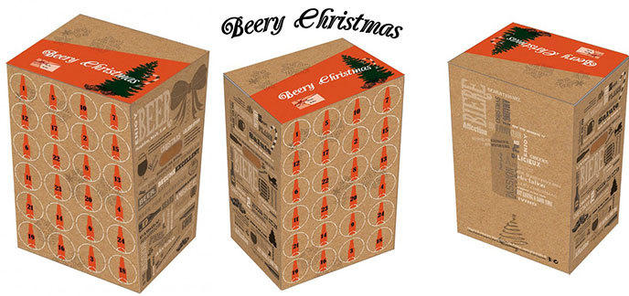 Calendrier De L Avent Bieres.Beery Christmas Le Calendrier De L Avent De La Biere
