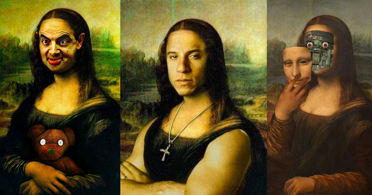 La Joconde Redecouvrez Mona Lisa En 40 Versions Completement Wtf