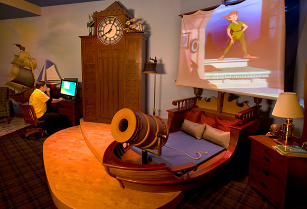 10 chambres version disney for Chambre hotel disney