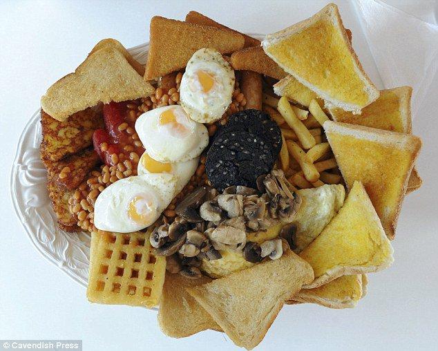 Populaire Personne n'a encore réussi à finir ce petit déjeuner de 8000 calories JG44