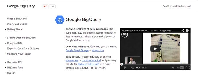 Google BigQuery