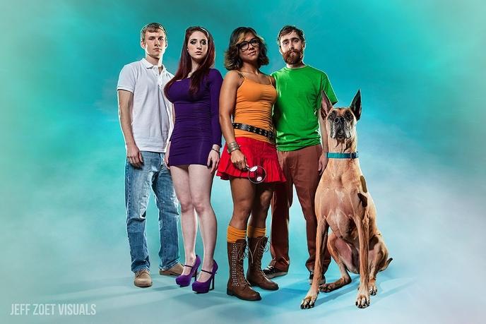 Scooby doo la mode zombie - Sammy scooby doo ...