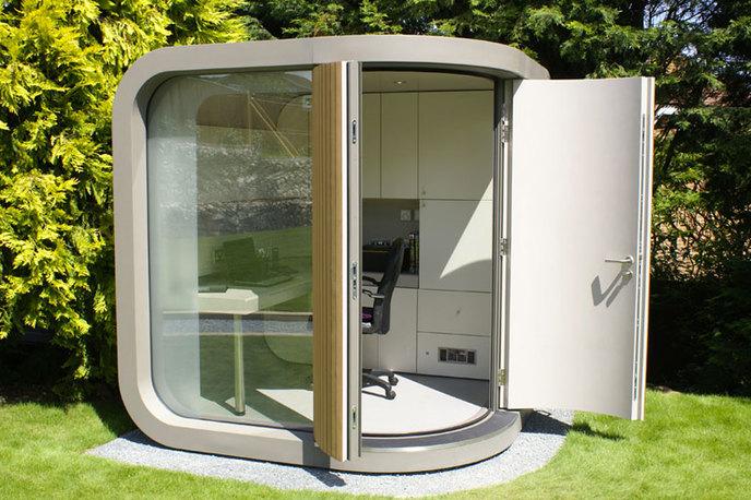 les bureaux insolites quelques id es pour mieux travailler. Black Bedroom Furniture Sets. Home Design Ideas