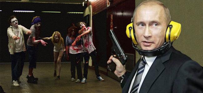 Poutine arme zombies