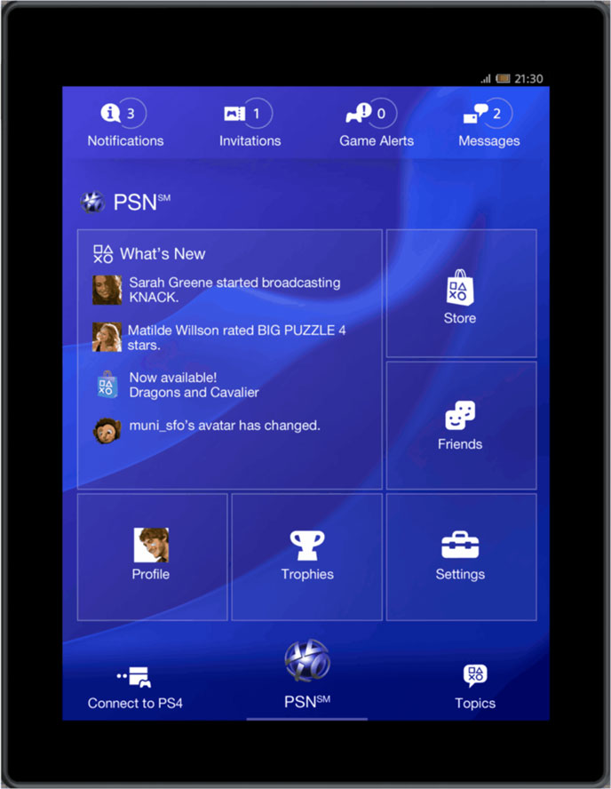 ps4 mobile