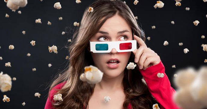 Film En 3d Cinema Lunettes Ou Pas