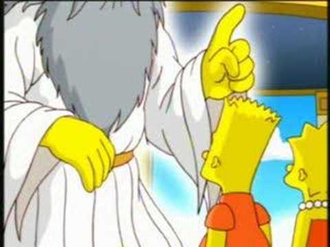 Simpson main dieu doigt