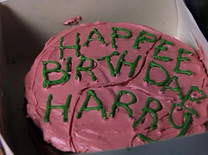 Gateau anniversaire Harry Potter