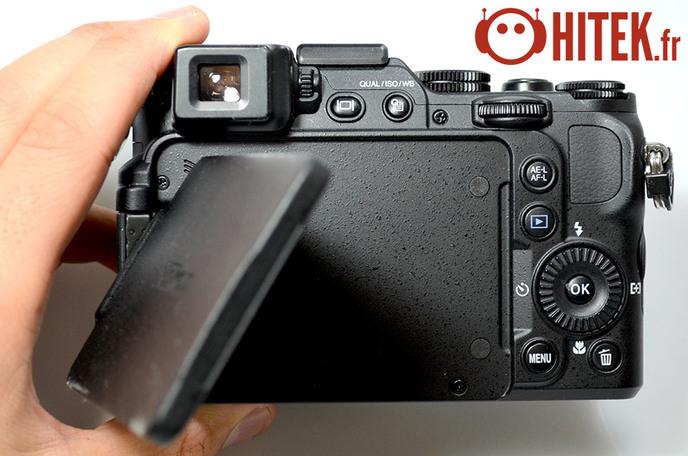 Arrière Nikon Coolpix P7800