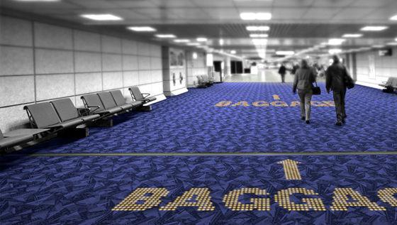 Moquette LED Philips aéroport
