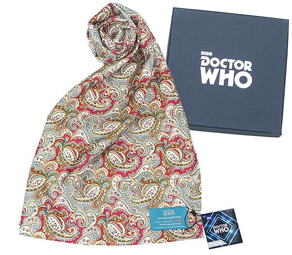 Doctor Who écharpe soie