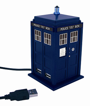 Doctor Who hub USB