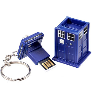 Doctor Who clé USB