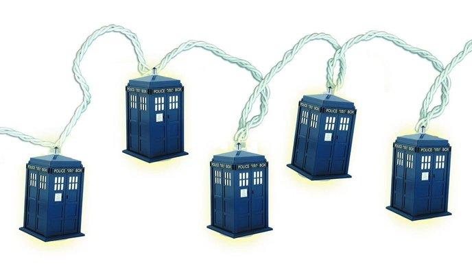 Doctor Who guirlande lumineuse