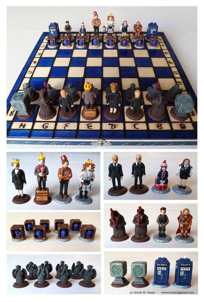 Doctor Who jeu d'échecs