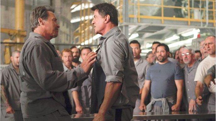 Schwarzenegger et Stallone