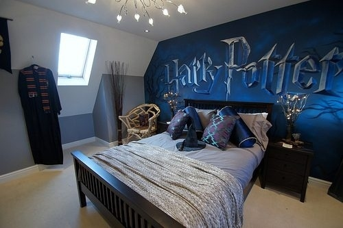 Le top 15 des chambres geek for Chambre harry potter