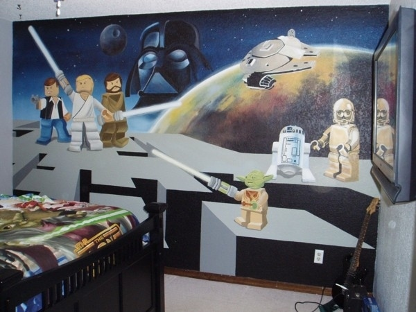 Le top 15 des chambres geek for Chambre star wars