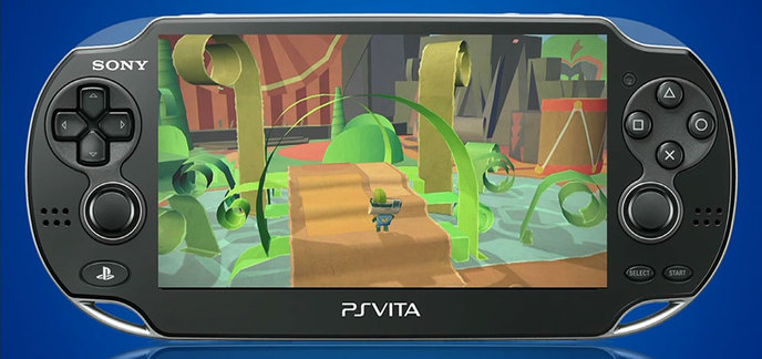une ps vita offerte pour l 39 achat de tearaway chez. Black Bedroom Furniture Sets. Home Design Ideas