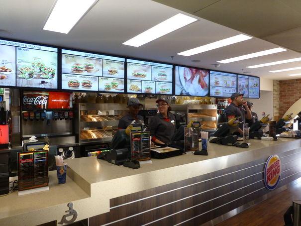 Fast Food Sur Autoroute A