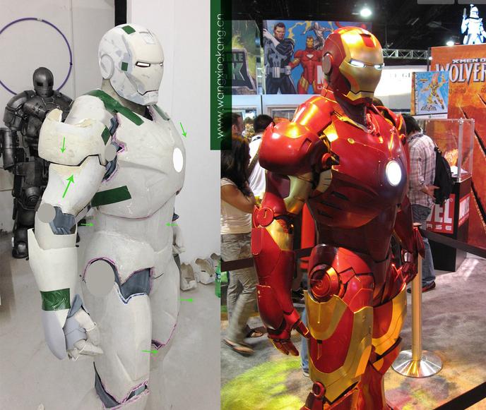 Offrez vous une armure iron man mark iii - Iron man en dessin anime ...