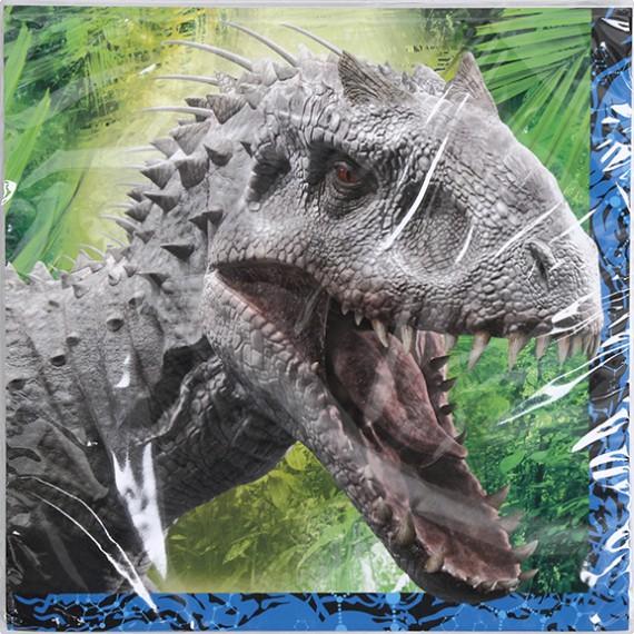 Jurassic world les premi res images du nouveau dinosaure - Dinosaure jurassic world ...
