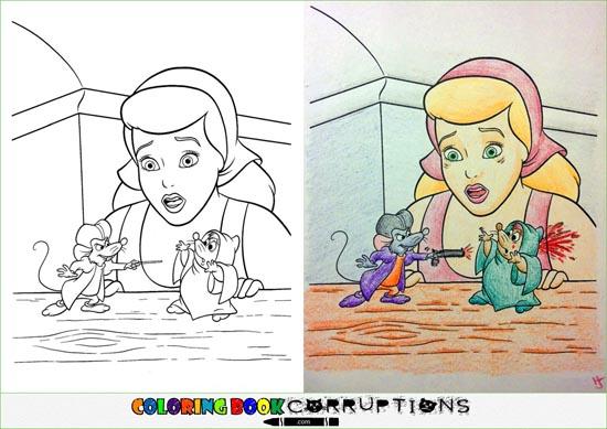 Top 45 des détournements de coloriages pour enfants ...