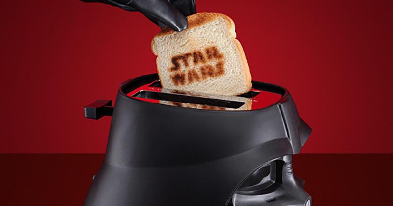 Le grille pain dark vador pour vous donner de la force au petit d jeuner - Grille pain dark vador france ...