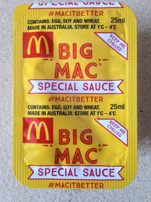 Favori La sauce du Big Mac désormais disponible en bouteilles ! TY16