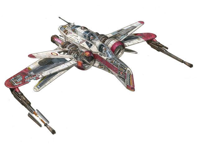vaisseaux star wars hans jenssen 2