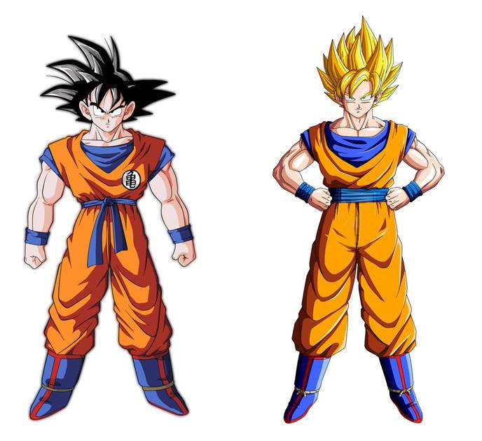 Pourquoi Les Cheveux De Son Goku Deviennent Blonds Lors De Sa