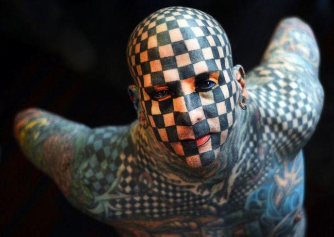 Exposition Universelle Du Tatouage Les Photos Les Plus Impressionnantes Et Terrifiantes