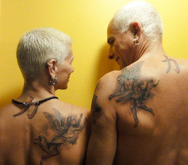 Ces Seniors Tatoues Nous Montrent Comment Vieillissent Les Tatouages
