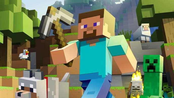 Minecraft d couvrez pourquoi ce jeu sera probablement for Ou apparait la pelle dans artisanat minecraft