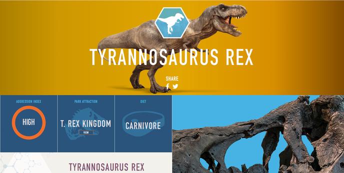 Jurassic world tous les dinosaures se d voilent en photos - Liste dinosaures ...