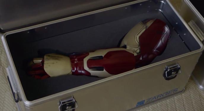 protheses iron man