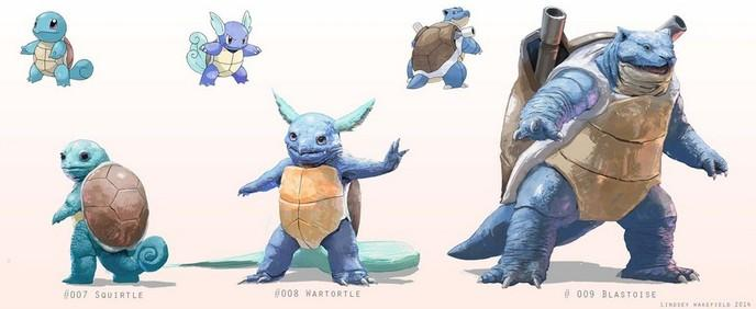 Des Pokémons Ultra Réalistes Et Vraiment Magnifiques Par
