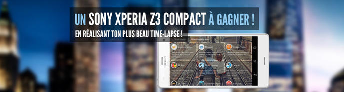 concours sony xperia z3 compact
