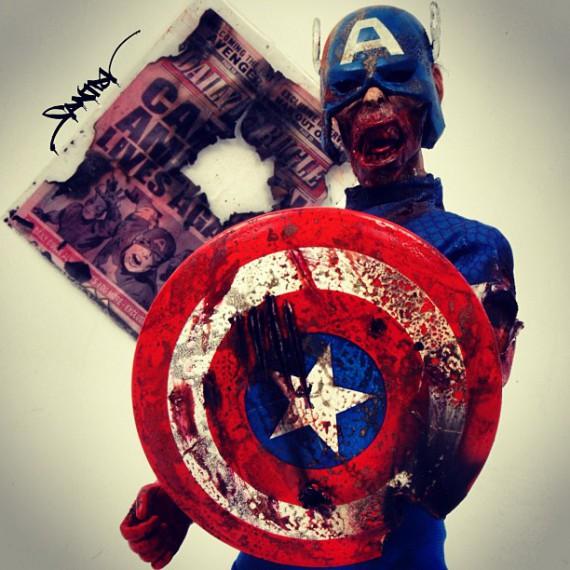 super hero zombie 9