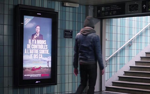 better call saul campagne virale paris 6