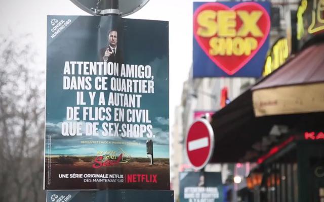 better call saul campagne virale paris 5