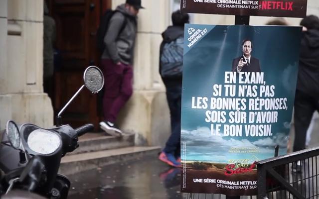 better call saul campagne virale paris 2