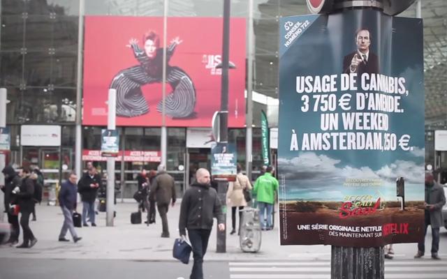 better call saul campagne virale paris 1