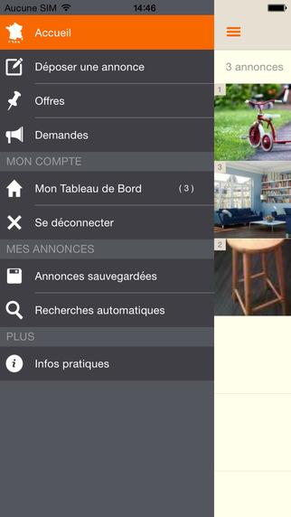 le bon coin les annonces sont galement disponibles sur. Black Bedroom Furniture Sets. Home Design Ideas